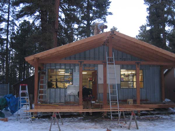 Store Porch Remodel, 2008