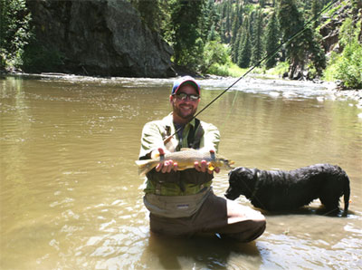 Brown Trout from the Piedra River
