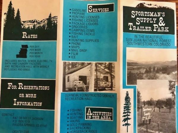 Front 1980's Brochure
