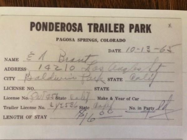 Ponderosa Trailer Park